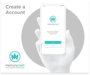 Banner create account mercury cash